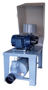 Tri-State Wastewater 5L Class 208/230/460V 3-Phase ODP Motor Raised Base Blower Package T5LRBP