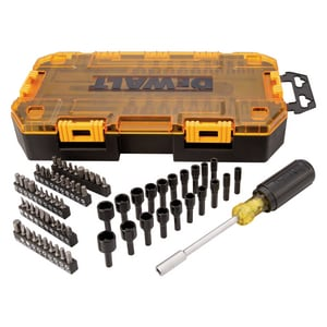 DEWALT 70-Piece Multi-Bit and Nut Driver Set DDWMT73808