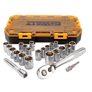 DEWALT 23-Piece Drive Socket Set DDWMT73813