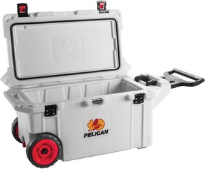 Pelican Products Pelican® Cooler on Wheel P32QMCWHT