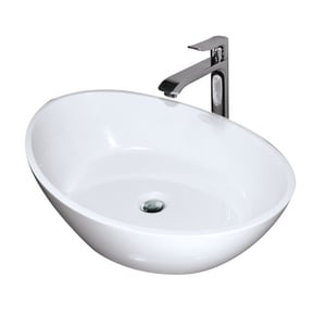 Hydro Systems Arc™ 1-Bowl Solid Surface Oval Lavatory Sink HARC2214SSS