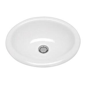 B & B Sales Teri Teri Undermount Lavatory Sink BTERI
