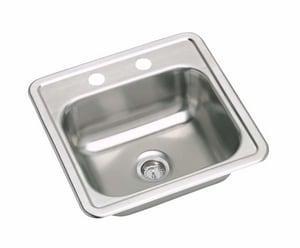 PROFLO 2-Hole Drop-In Bar Sink PFD151562