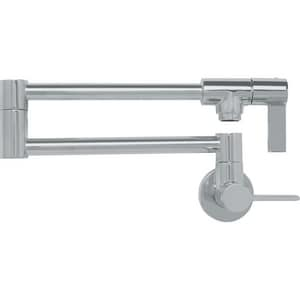 Franke Consumer Products Ambient Wall Mount Pot Filler in Satin Nickel FPF3180