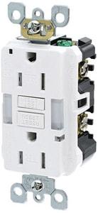 Leviton SmartlockPro® 15A Duplex Tamper Resistant GFCI Receptacle LGFNL1