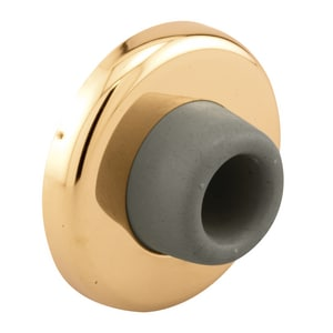 Primeline Products Wall Stop in Polished Brass PMP45421