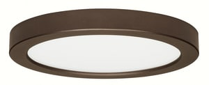 Satco 18.5W LED Ceiling Light Fixture in Bronze SS9338