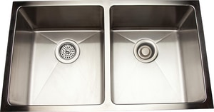 Mirabelle 2-Bowl Kitchen Sink MIRUC3118