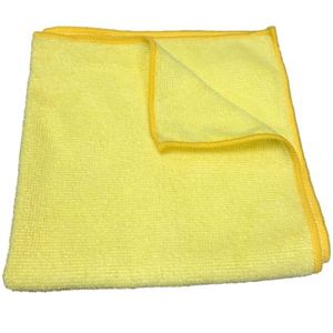 HP Products Microfiber Cleaning Cloth 12-Pack in Yellow HMC1616YEL200