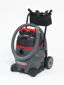 Ridgid Qwik Lock® Wet and Dry Vacuum with Cart R50348