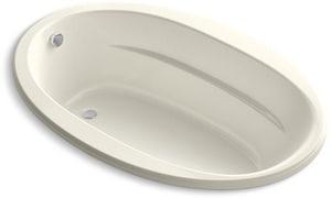 Kohler Sunward® 66 x 42 in. Drop-In Bathtub with End Drain K6346