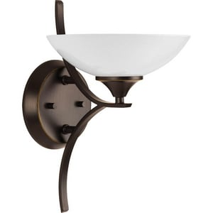 Progress Lighting Prosper 9 in. 100W 1-Light Vanity Light in Antique Bronze PP215020
