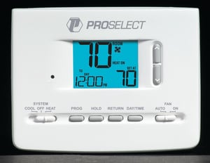 PROSELECT® 3A Large Display Programmable Thermostat PSTSL11P52