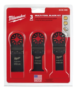 Milwaukee 3-3/4 in. Multi-Tool Blade Kit M48901000