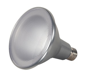 Satco 5-3/16 in. 15W 3000K LED Bulb with 60 Deg Beam Spread SS9451