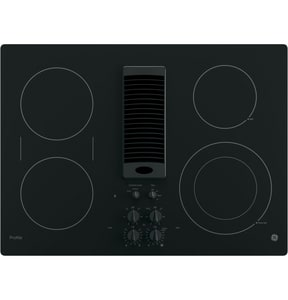 General Electric Appliances Profile™ 29-3/4 in. Ceramic Glass Downdraft Electric Cooktop GPP9830DJ