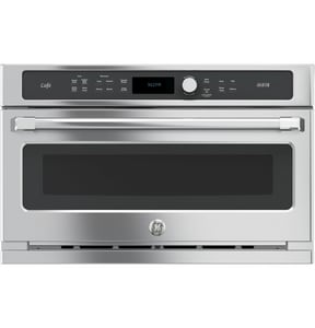 General Electric Appliances Cafe™ Series 29-3/4 in. 1.7 cf Built-In Electric Single Oven GCSB9120SJ