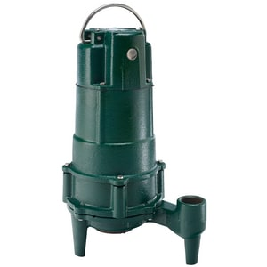 Zoeller Non-Automatic Residential Grinder Pump Z8050002