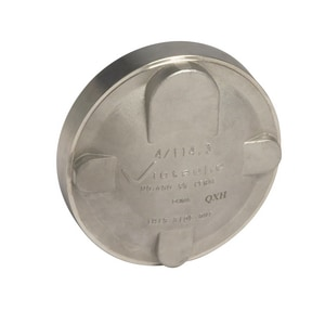 Victaulic Style 460 Grooved Schedule 10 316L Stainless Steel Cap VF460X16