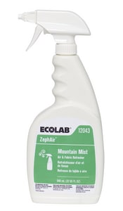 Ecolab 32 oz. Mountain Mist Fabric Refresher (Case of 6) E6112043