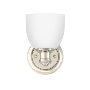 Park Harbor® Peebles 8-3/8 x 5-3/8 in. 100W 1-Light Medium E-26 Vanity Fixture PHVL2131