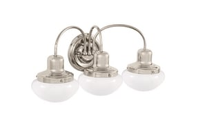 Park Harbor® Pamplin 9-1/2 x 20 in. 100W 3-Light Medium E-26 Vanity Fixture PHVL2053