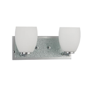Park Harbor® Olen 6-3/4 x 13-3/4 in. 100W 2-Light Medium E-26 Vanity Fixture PHVL2022