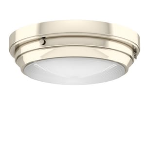 Park Harbor® Peebles 5 x 16 in. 60W 3-Light Medium E-26 Flush Mount Ceiling Fixture PHFL4013