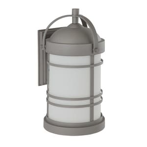 Park Harbor® Nottoway 100W 19-1/8 in. 1-Light Medium E-26 Wall Sconce in Graphite PHEL1202GRAPH
