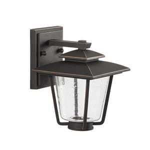Park Harbor® Ivy Cottage 9W 8-7/8 in. 1-Light Wall Sconce in Oil Rubbed Bronze PHEL1300ORBLED