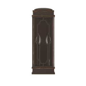 Park Harbor® Dorset 60W 17-1/4 in. 2-Light Candelabra E-12 Wall Sconce in Oil Rubbed Bronze PHEL2800ORB