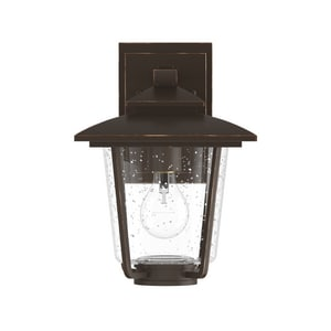Park Harbor® Ivy Cottage 100W 11 in. 1-Light Medium E-26 Wall Sconce in Oil Rubbed Bronze PHEL1301ORB