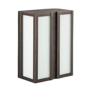 Park Harbor® Willow Hill 26W 12 in. 2-Light GU24 Wall Sconce PHEL2001