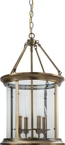 Park Harbor® 60W 4-Light Candelabra E-12 Pendant PHPL5664