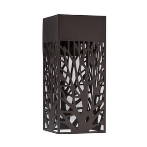 Park Harbor® Fir Lane 9W 14 in. 1-Light Wall Sconce in Chocolate Bronze PHEL2100CHBR