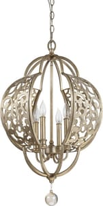 Park Harbor® 60W 4-Light Candelabra E-12 Pendant PHPL5224