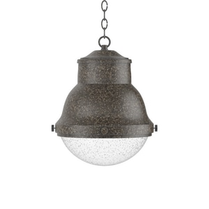Park Harbor Burruss 13-3/4 in. 100W 1-Light Medium E-26 Pendant PHEL2502