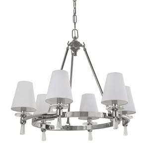 Park Harbor® Southampton 60W 23-1/8 in. 6-Light Candelabra E-12 Chandlier PHHL6016