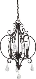 Park Harbor Jefferson Commons 60W 23-1/2 in. 3-Light Candelabra E-12 Chandlier PHHL6203