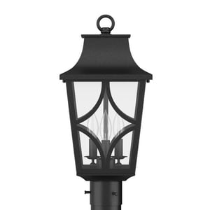 Park Harbor® Altimeter 19-7/8 in. 60W 3-Light Candelabra E-12 Post Lantern PHEL1403