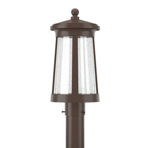 Park Harbor® Woodberry 17-1/8 in. 12W 1-Light Post Lantern PHEL3103LED