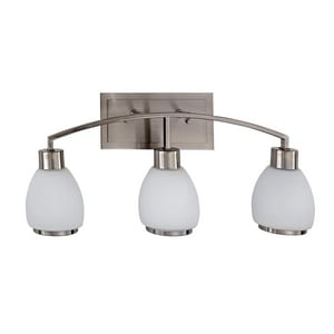 Park Harbor® Osbourne 11 x 25 in. 100W 3-Light Medium E-26 Vanity Fixture PHVL2243