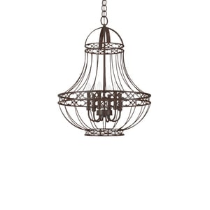 Park Harbor® 60W 30-3/4 in. 5-Light Candelabra E-12 Chandlier PHHL6305