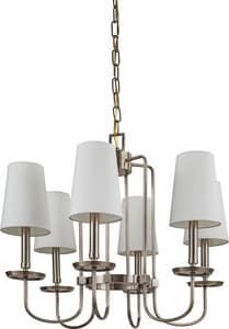 Park Harbor Fielding 60W 23-3/8 in. 6-Light Candelabra E-12 Chandlier PHHL6056