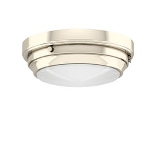 Park Harbor® 4-1/2 x 13 in. 60W 2-Light Medium E-26 Flush Mount Ceiling Fixture PHFL4012