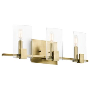 Kichler Lighting Signata 60W 3-Light Bath Vanity Light KK45703