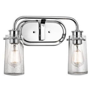 Kichler Lighting Braelyn™ 2-Light Bathroom Light KK45458
