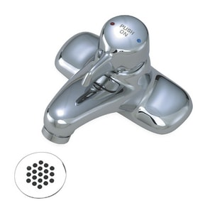 Symmons Industries 0.5 gpm Lavatory Faucet with Grid Strainer SYMS60GH