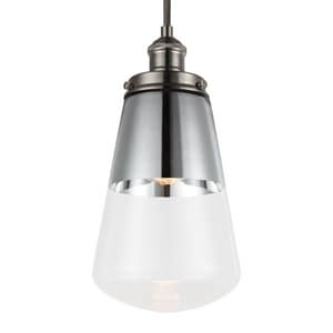 Murray Feiss Industries Waveform 60W 1-Light Pendant MP1372