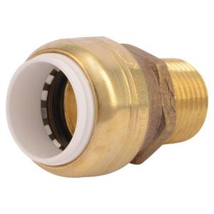 Sharkbite PVC x MNPT Brass Adapter SUIP1